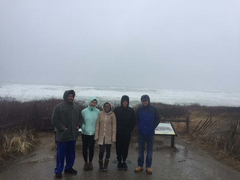 Group photo of Fall 2017 PLACE Fellows at Cape Cod